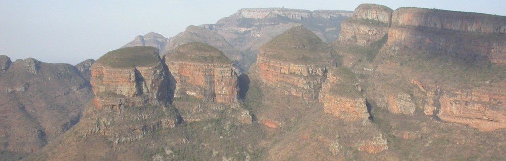 Drakensberg - Blyde River Canyon - Three Rondavels