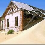 Touraco Travel Services - Kolmanskop Ghost Town near Luderitz - Namibia South Tour