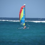 Touraco Travel Services - Windsurfing on Zanzibar