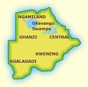 Touraco Travel Services - Botwana & Okavango Delta