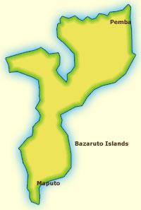 Touraco Travel Services - Mozambique Reiseziel